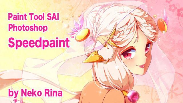 ファンタジーのキャラクターを描く!PhotoshopとSAIのイラストメイキング